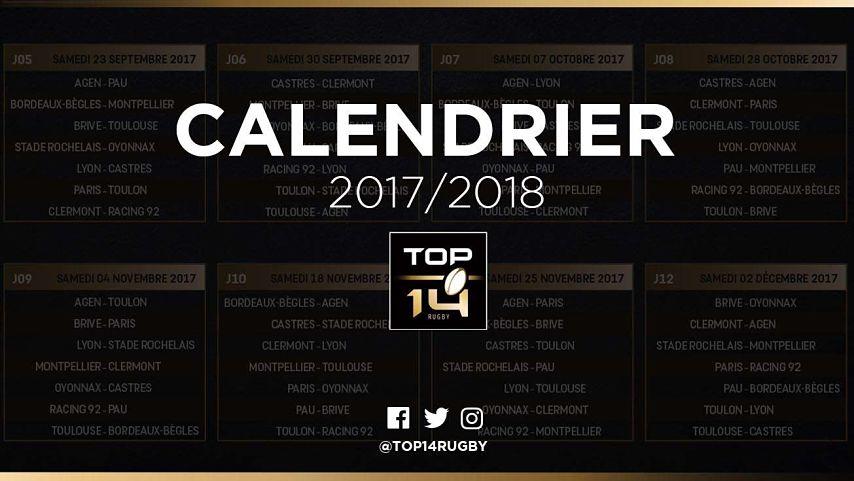 Rencontre top 14 2017
