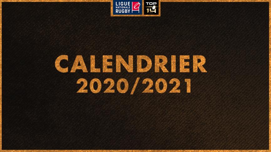 Le calendrier du Top 14 pour la saison 2020/2021 est sorti